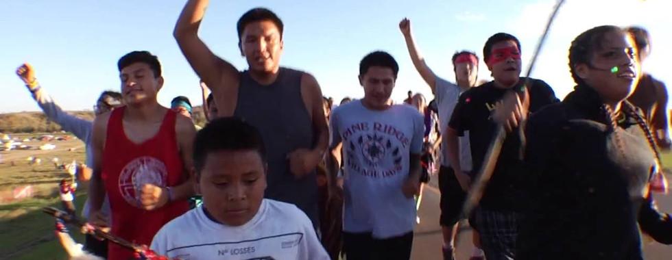 Prayer Run To Standing Rock