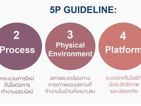 5P Guideline: ทำอย่างไรเมื่อต้องให้พนักงาน Work From Home