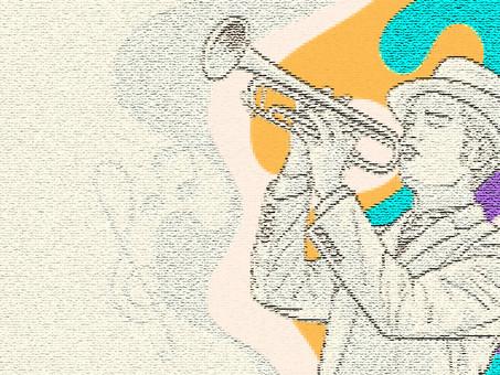 มนุษย์พิกเซล กับนักดนตรีแจ๊ส