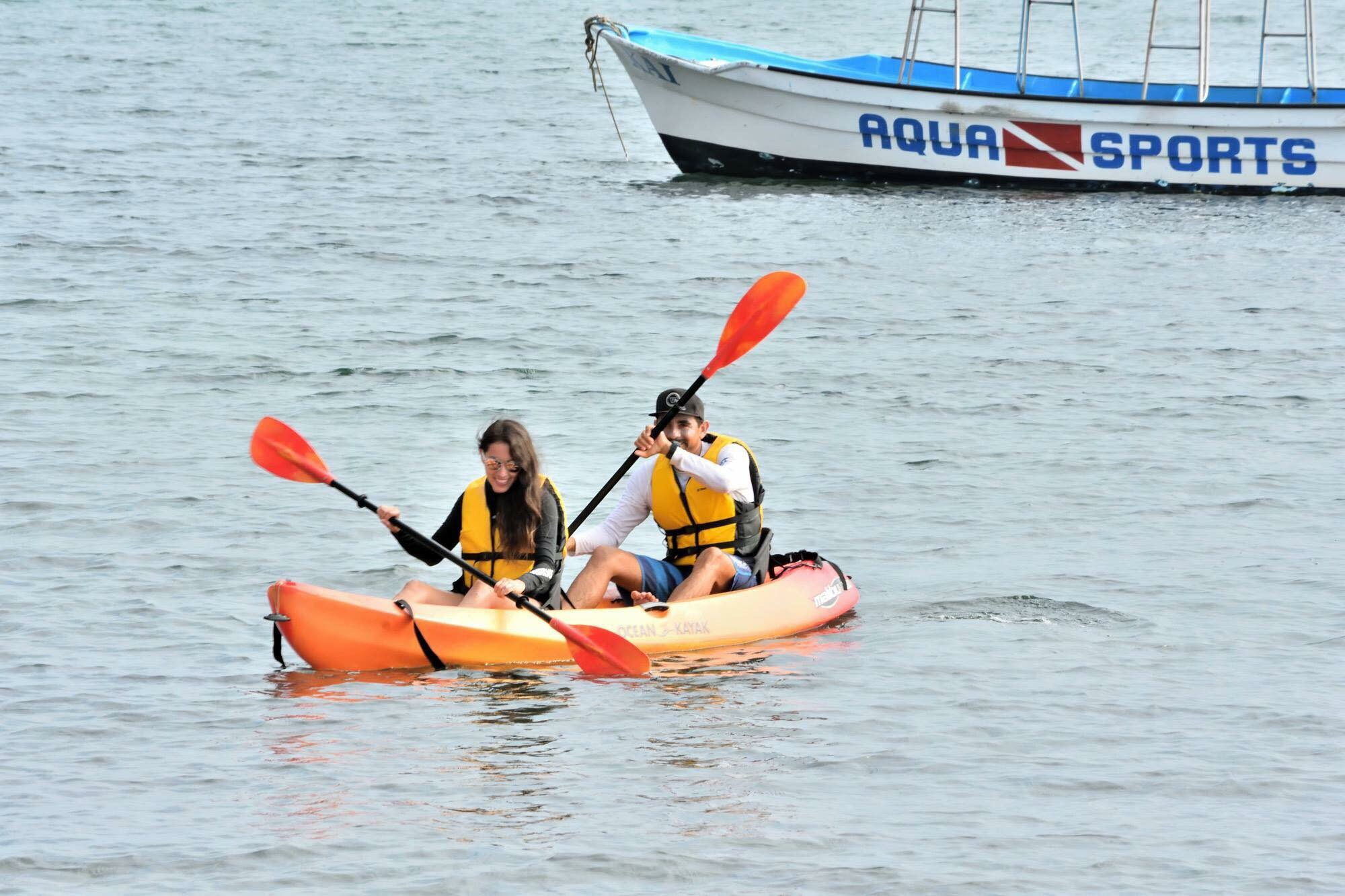 Kayaks Included