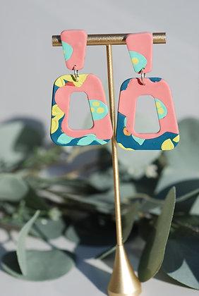 Tropical Flower Earring