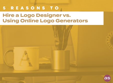 5 Reasons You Should Hire a Logo Designer vs. Using Online Logo Generators