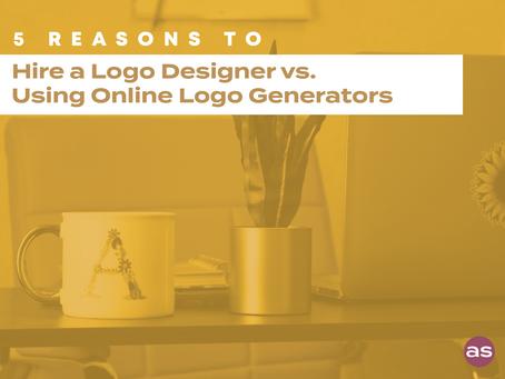 5 Reasons You Should Hire a Logo Designer vs. Using Online Logo Generators