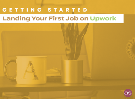 Getting Started: Landing Your First Job on Upwork