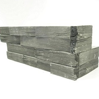 Rough Charcoal Slate - Rough Corner