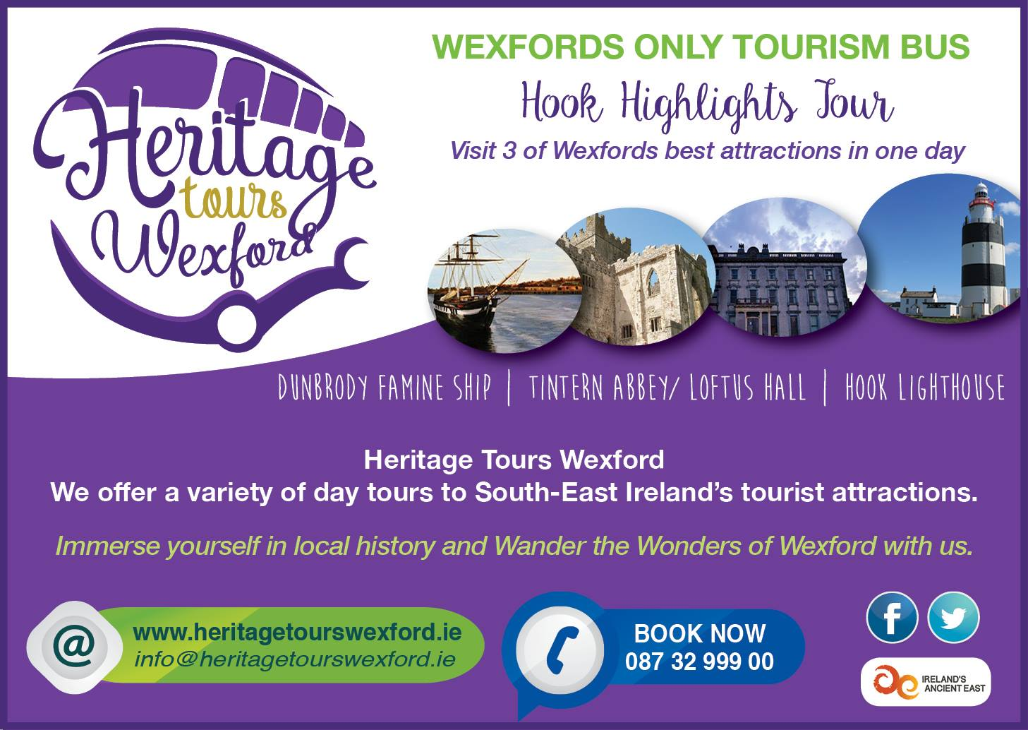 Heritage tours ad
