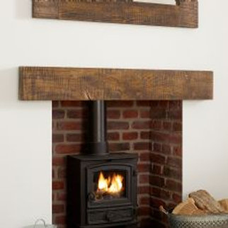 "Sawn Oak Beam Mantle 1050mm-(41.5"")"