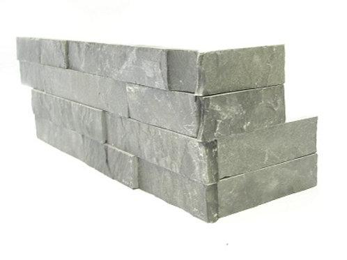 Charcoal Slate - Flat Corner