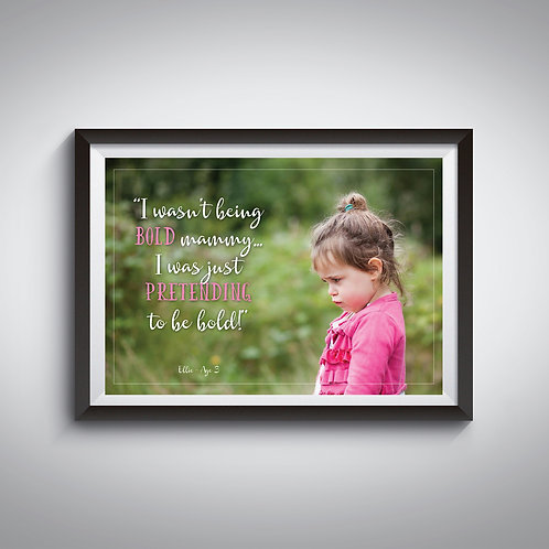 Kids Quote Posters