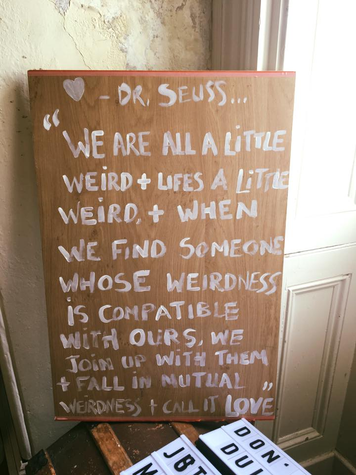Dr Seuss sign