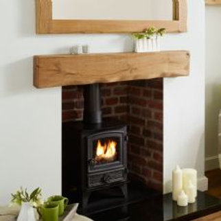 Waney Oak Beam Mantel 1200mm-47.25""