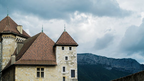 French Mountain Castle
