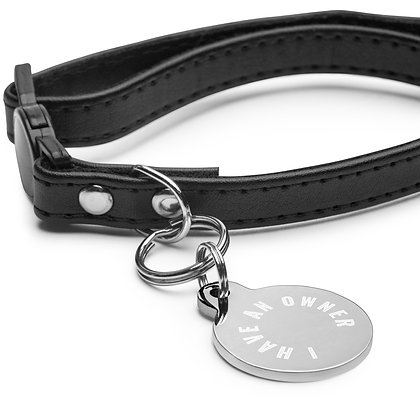 I Have an Owner Engraved pet ID tag