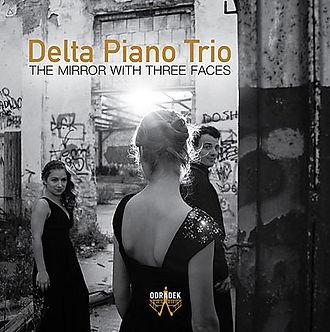 Album Cover CD 'The Mirror With Three Faces' by the Delta Piano Trio
