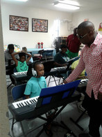 A-Stone Piano School Teaching young child