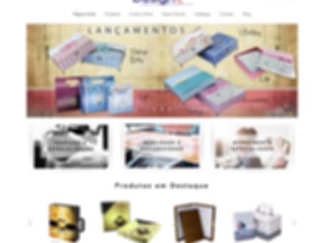 Conheça o novo site da Design!