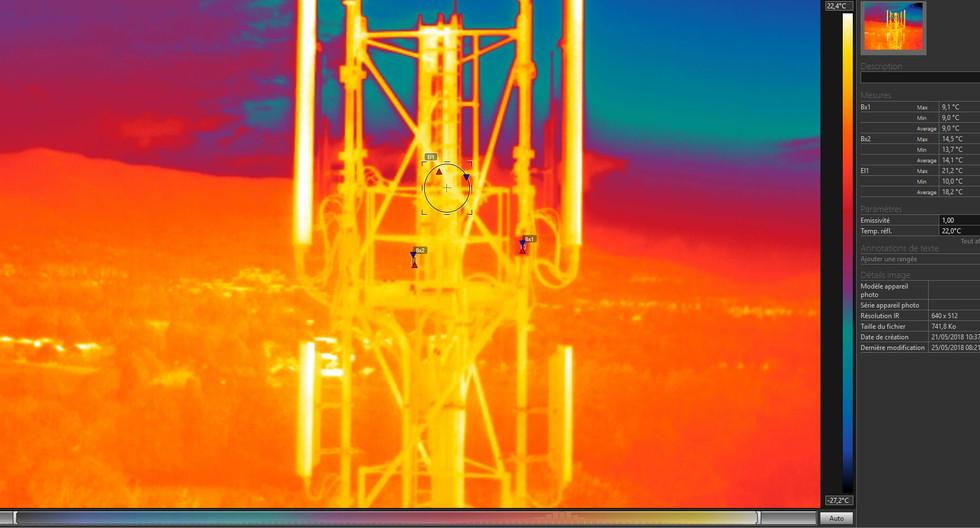 Inspection thermique-opérateur telephonique - oraedrone.com