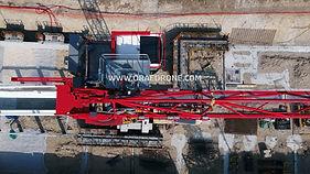 Suivi de chantier par drone, prises de vues aerienne et sol