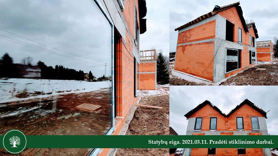 Statybų eiga. 2021.03.11.