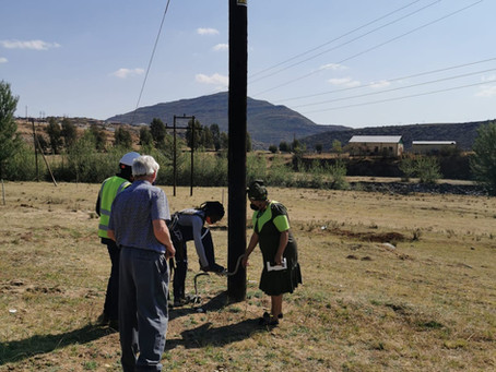 Senqu Rural Electrification 2019-2020