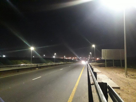 SANRAL Streetlight project - R75 - 13km Section Between PE and Dispatch