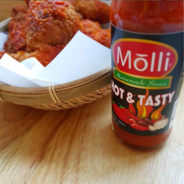 Extra Hot fried chicken