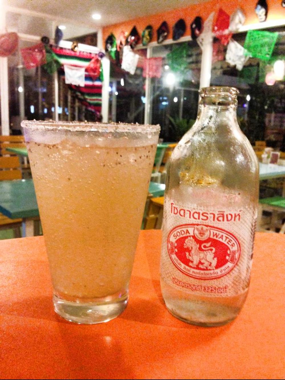 Virgin Michelada (non alcoholic drink)