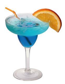 Blue-lagoon-cocktail-in-margarita-glass