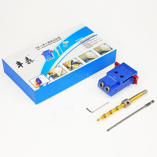 Mini Kreg Style Pocket Hole Jig Kit System