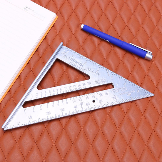 1pc Square Protractor Miter Framing Measurement Tool Speed Square Protractor