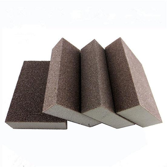 120grit Abrasive Foam Sanding Sponge Block Wood Furniture Wall Corner Grinding