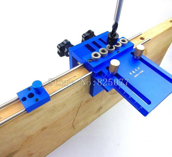 3 in 1 Drilling High Precision Dowel Jig Kit