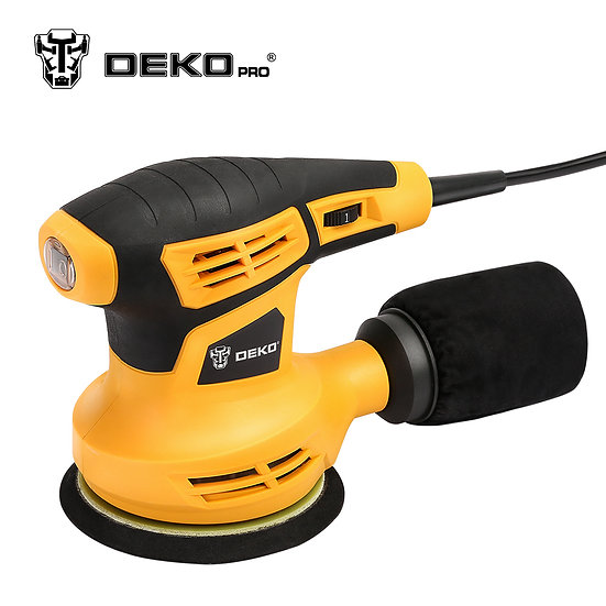 QD6206R 280W Random Orbit Sander w/ 15 sheets of sandpaper Dust