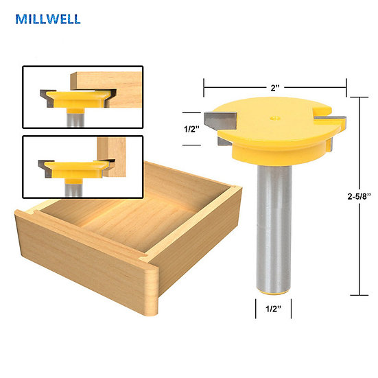 1PCS-1/2 INCH Free shipping woodworking router bit,solid carbide end mill,wood