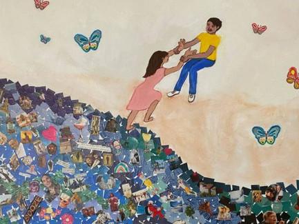 My Painting To Honor Korean Helpers Around The World