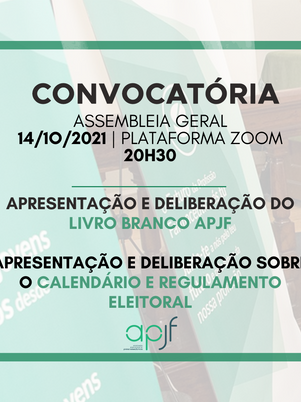 Assembleia Geral 14 de Outubro