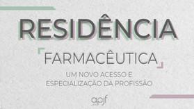 E-book Residência Farmacêutica, um novo acesso e especialização da profissão
