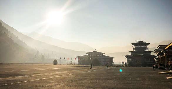temple bhutan airport
