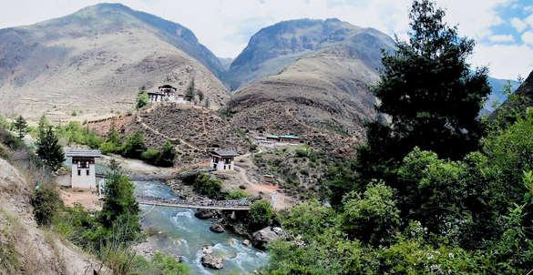 temple bhutan nature