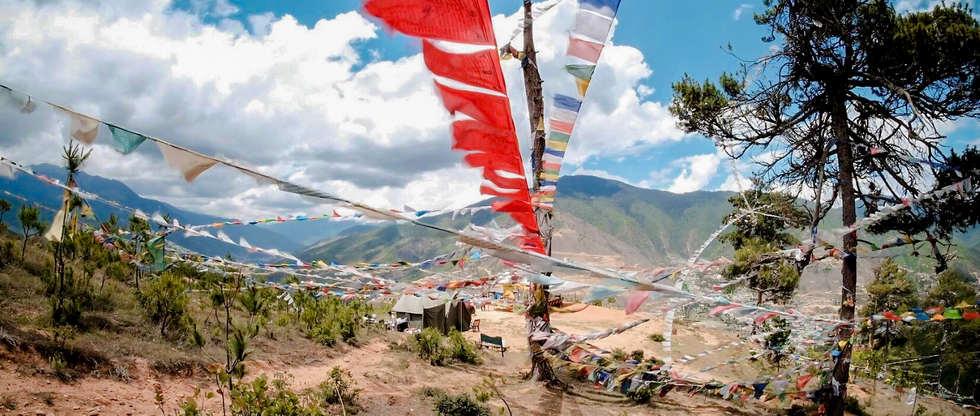 bhutan flags colours
