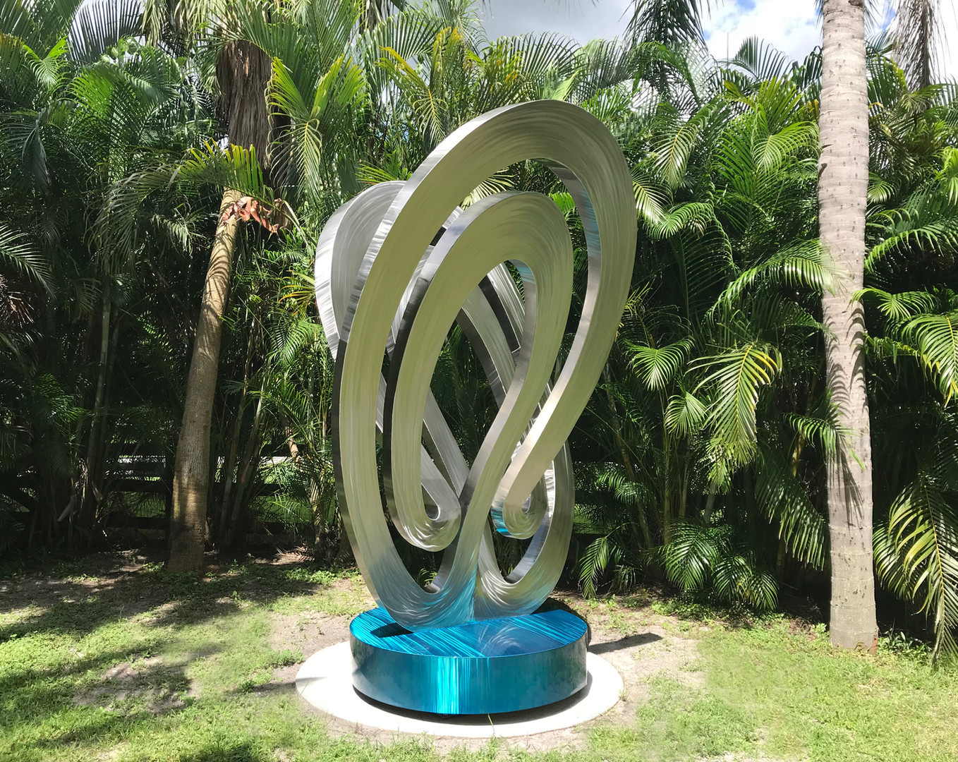 Stainless Steel Mobius Sculpture