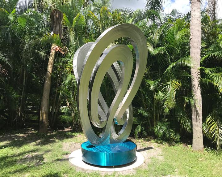 Stainless Steel Mobius Sculpture