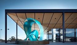 Aqua Dimensions Sculpture