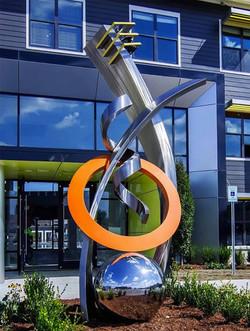 Monumental Contemporary Sculpture