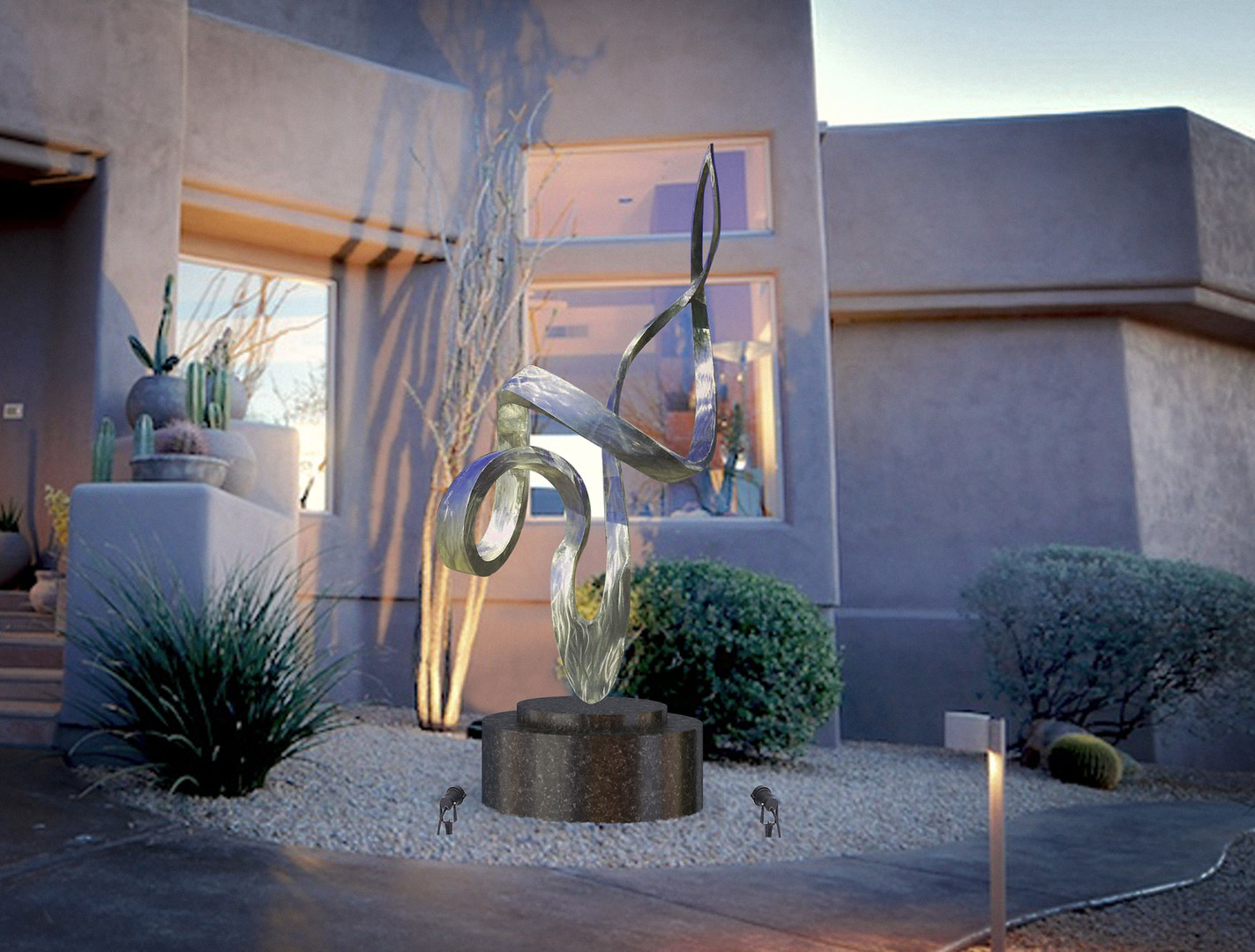 Essence_Stainless Steel Sculpture