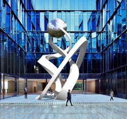 Business Center Sculpture
