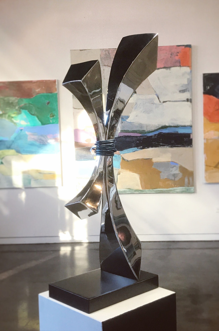 Mirror Polished Sculpture