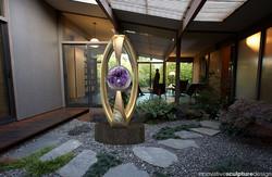 Bronze Garden Sculpture