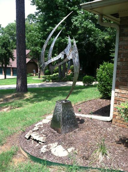 Hazardous Love- Stainless Steel Sculptur