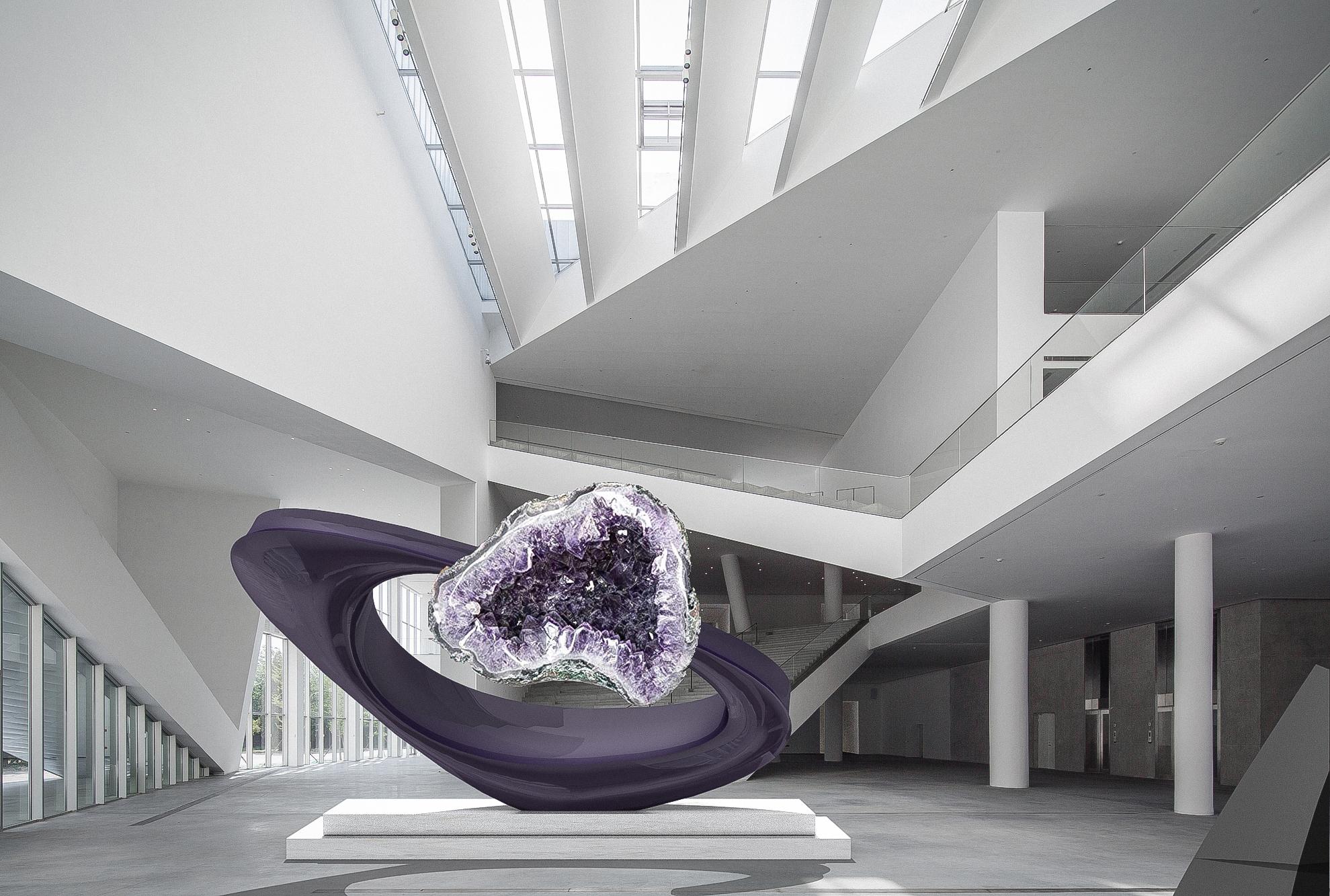 geode sculpture